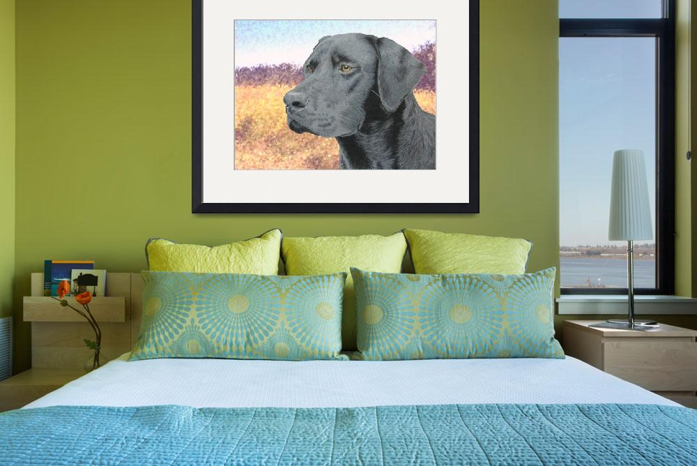 """""""Black Lab&quot  (2009) by aart2000"""
