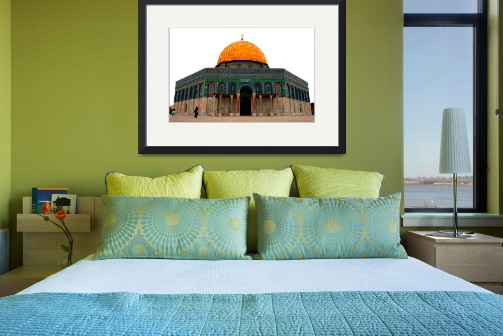 """""""Dome of the Rock. Muslim Quarter, Old Jerusalem""""  (2008) by Russian_Dreamer"""