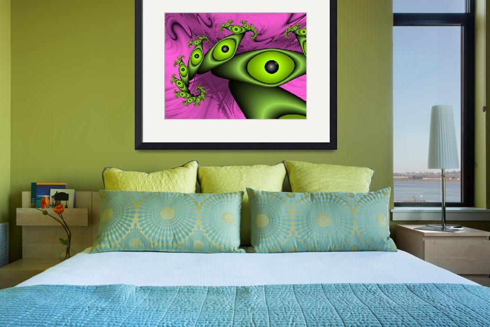 """""""Surreal Green Eyes&quot  (2012) by gabiw"""
