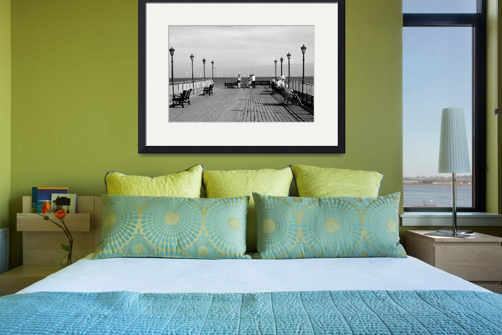 """Pier End View, Skegness (20183-RDW)&quot  (2009) by rodjohnson"