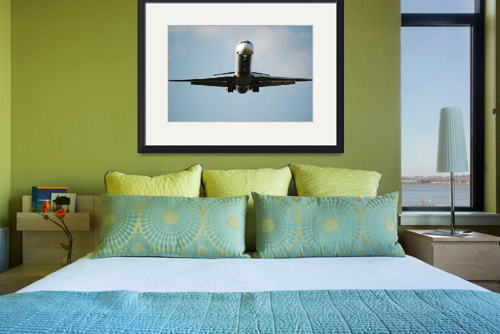 """""""Airplane in Flight&quot  (2009) by PhotograpybyTrista"""