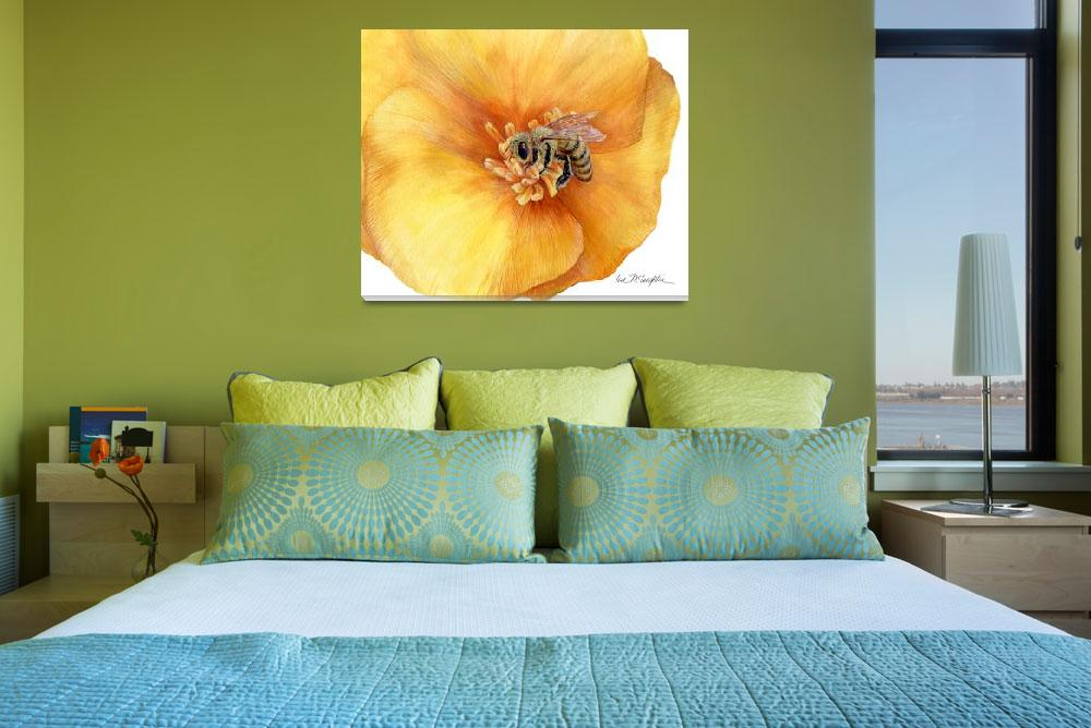 """""""Honey Bee&quot  (2009) by LisaMclaughlin"""