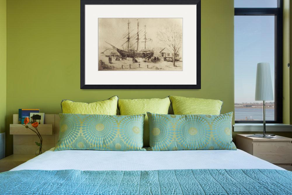 """Whaling Ship Charles W. Morgan&quot  (2007) by blaney"