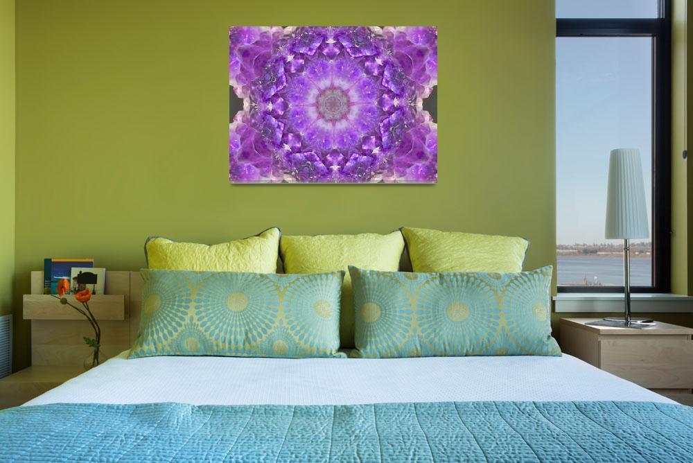 """""""Violet Mandala""""  (2012) by SeaAngel12"""