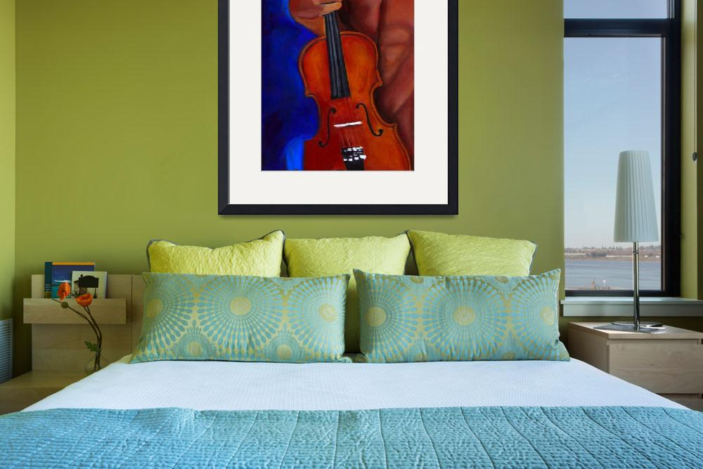 """""""The French Violinist&quot  (2009) by Vel"""