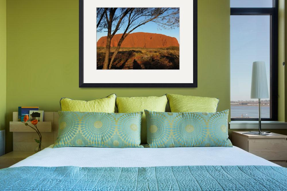 """""""Ayers Rock, Australia""""  by snaptherapy"""