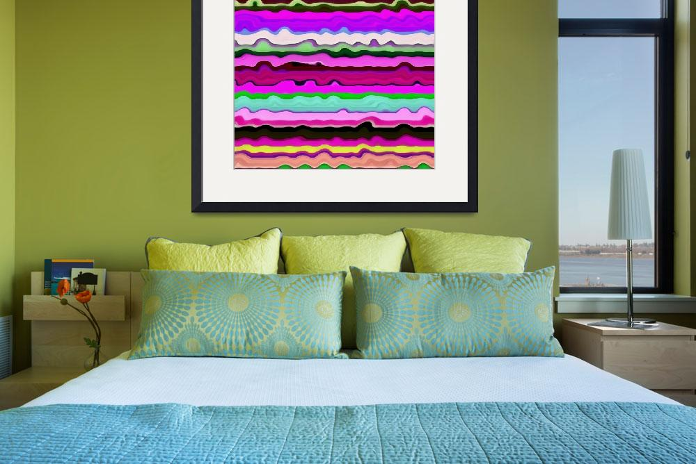 """""""Color Waves No. 3""""  (2014) by Michelle1991"""