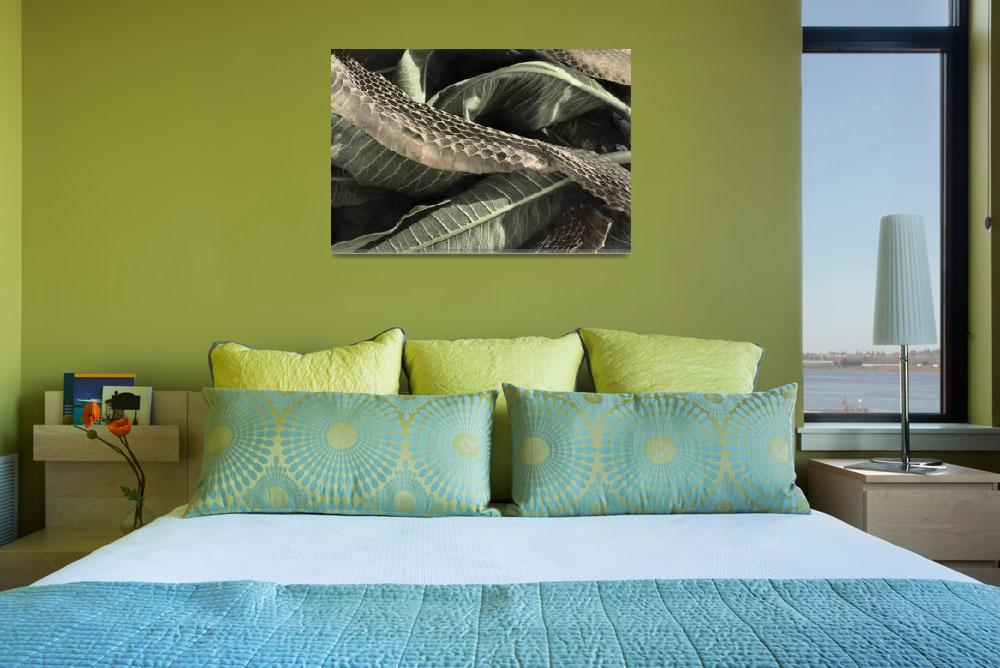 """""""Snakeskin&quot  (2008) by maureenbremer"""