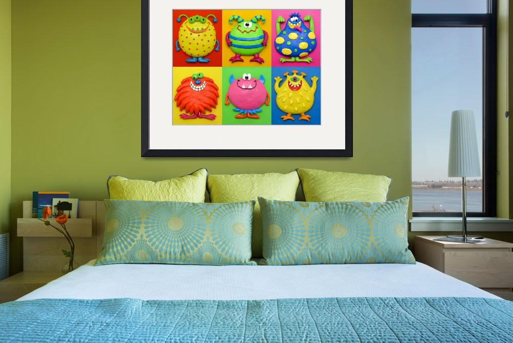 """""""Monsters&quot  (2009) by AmyVangsgard"""