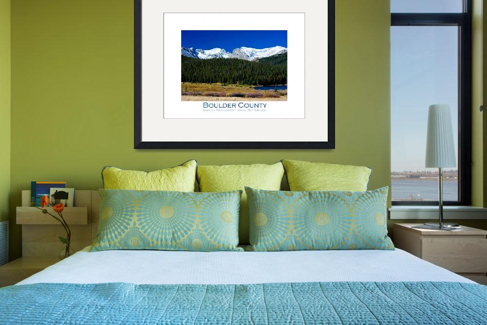 """""""Rocky Mountains - Continental Divide - Indian Peak&quot  (2009) by lightningman"""