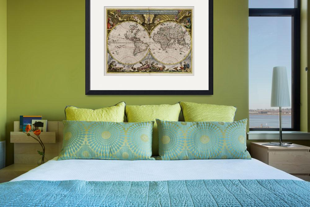 """""""World Map1664&quot  (2013) by TheNorthernTerritory"""