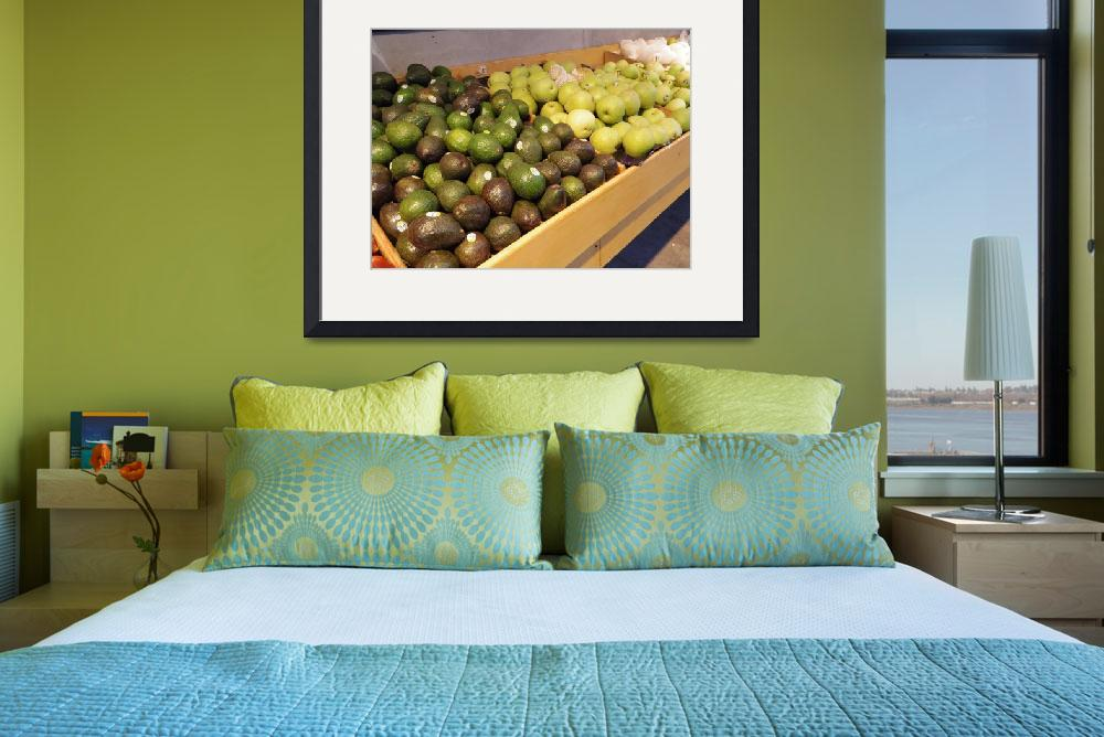 """""""Avocados And Pears&quot  (2014) by photographybymumtaz"""
