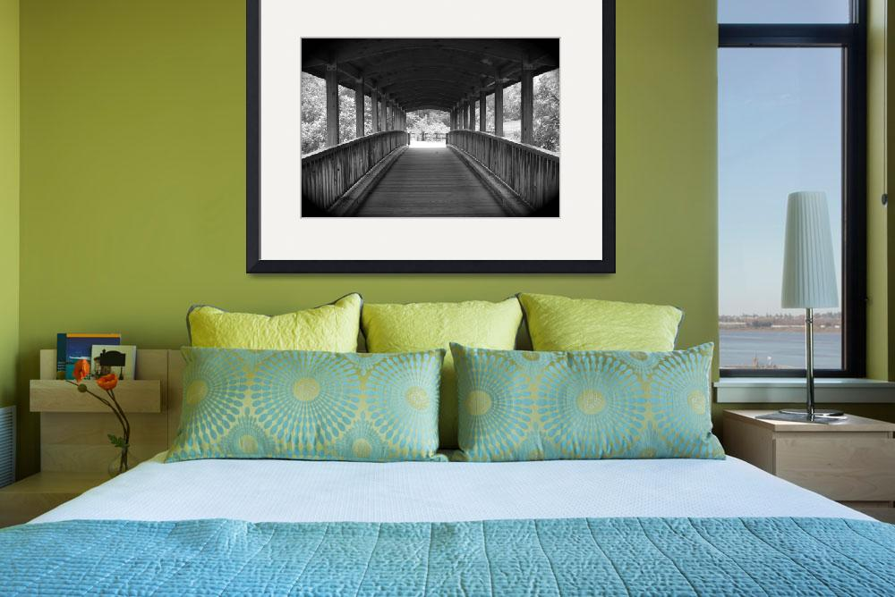 """""""Little Tennessee Greenway Covered Bridge&quot  by wpcurtis"""