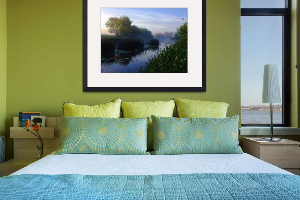 """""""Morning on the River Stour&quot  (2010) by mathalda"""