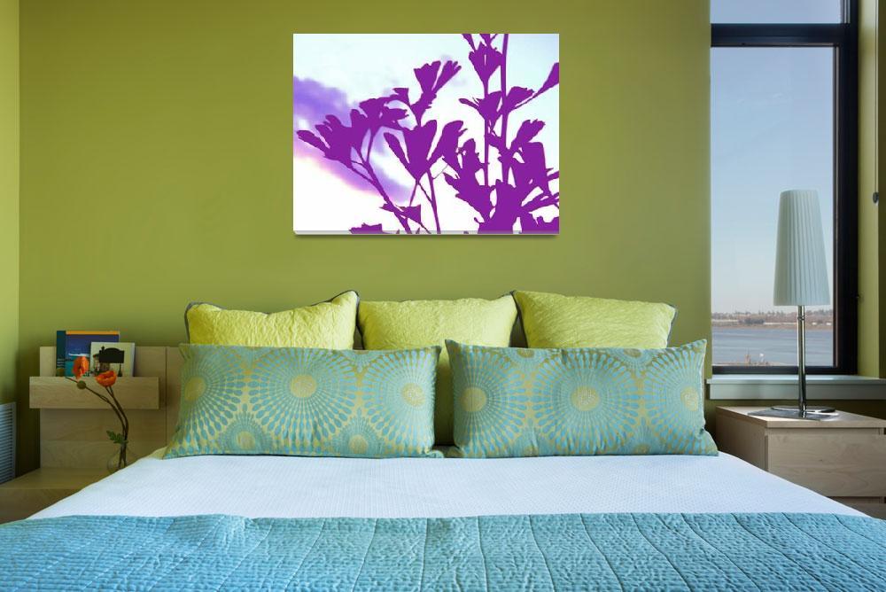 """Ginkgo Purple&quot  (2010) by shindigenometry"
