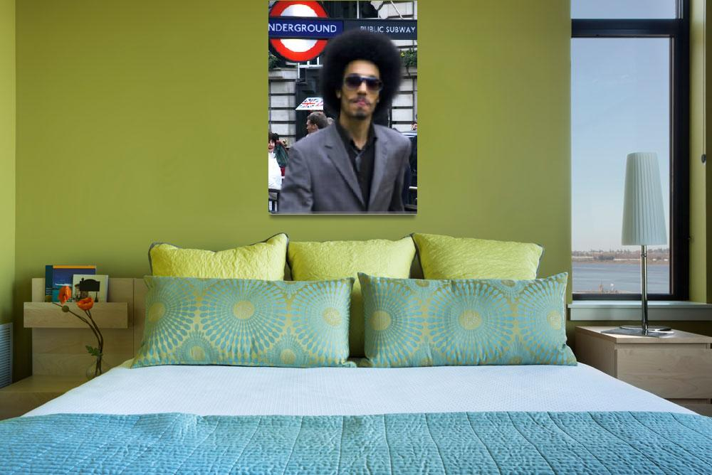 """""""afro man in London""""  (2009) by VivianGerogianni"""