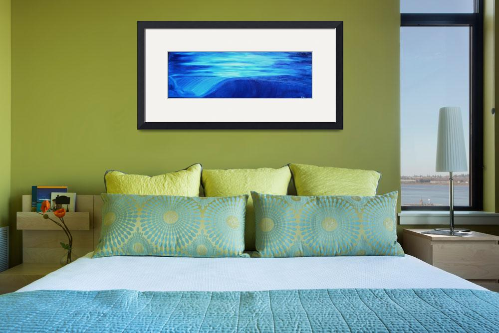 """""""Blue Wave""""  (2008) by mikecollinsart"""