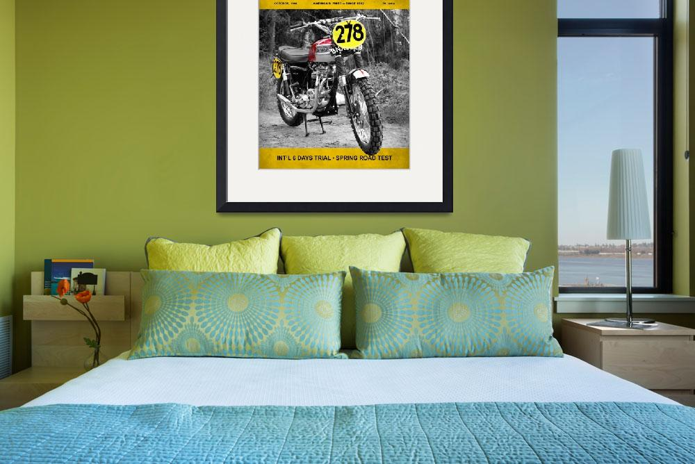 """""""Motorcycle Magazine ISDT 1964&quot  (2009) by mark-rogan"""