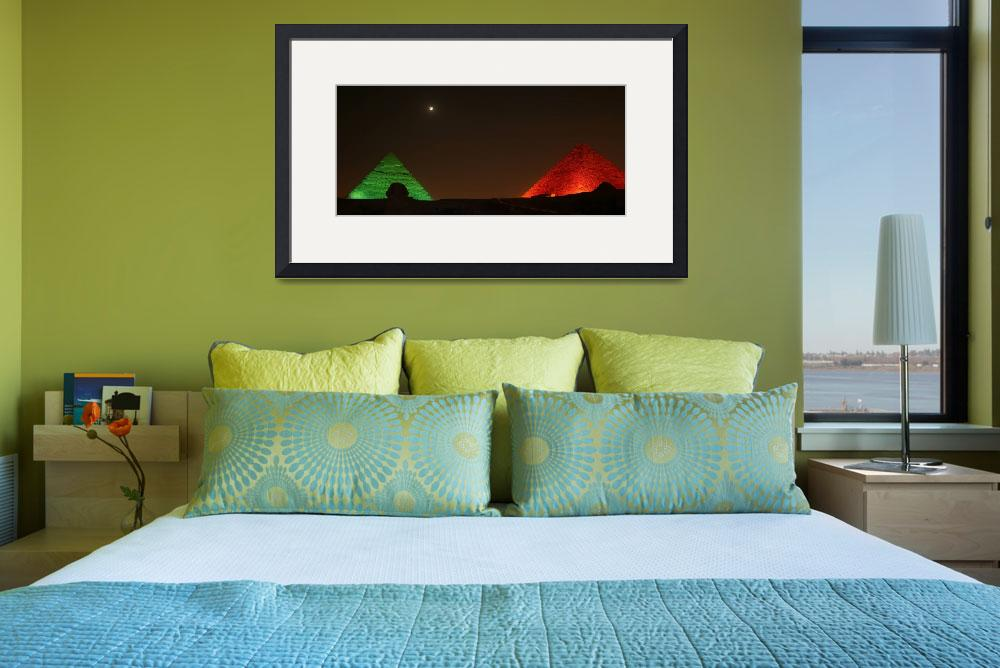 """""""Christmas Pyramids&quot  (2008) by DonnaCorless"""