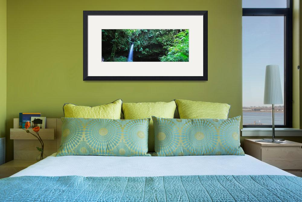 """""""Waterfall Dominica Windward Islands&quot  by Panoramic_Images"""