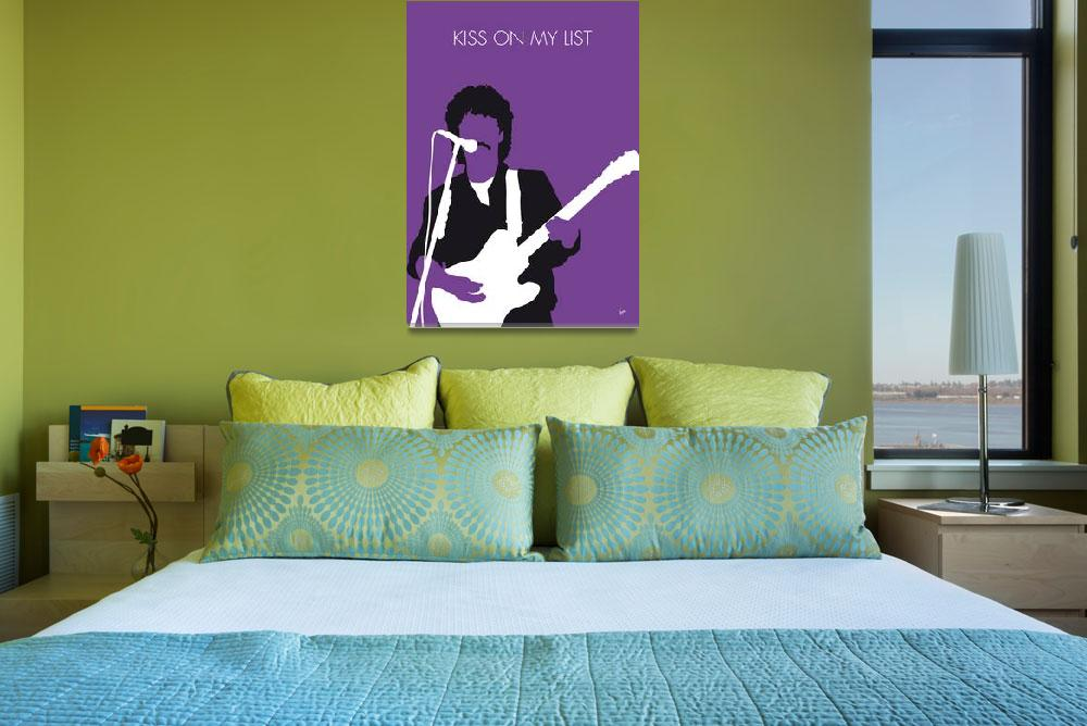 """""""No271 MY Hall and Oates Minimal Music poster""""  by Chungkong"""