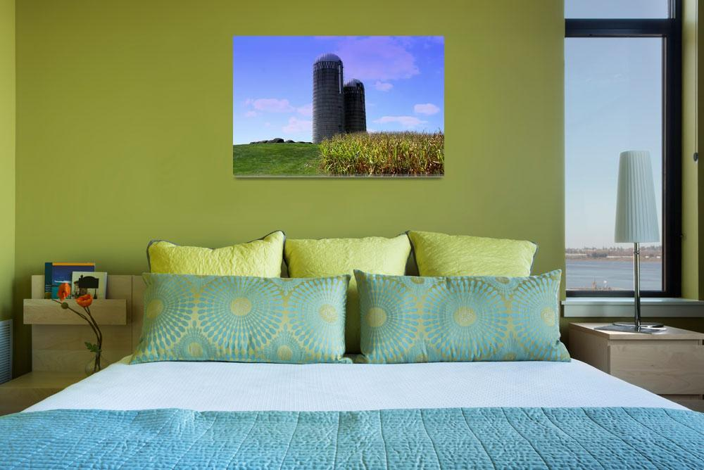 """""""silo in the country Southern Ohio&quot  by sherryswest"""