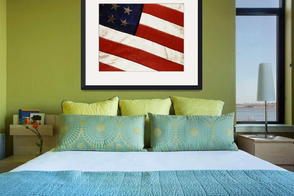 """""""48 Star American Flag&quot  by Panoramic_Images"""