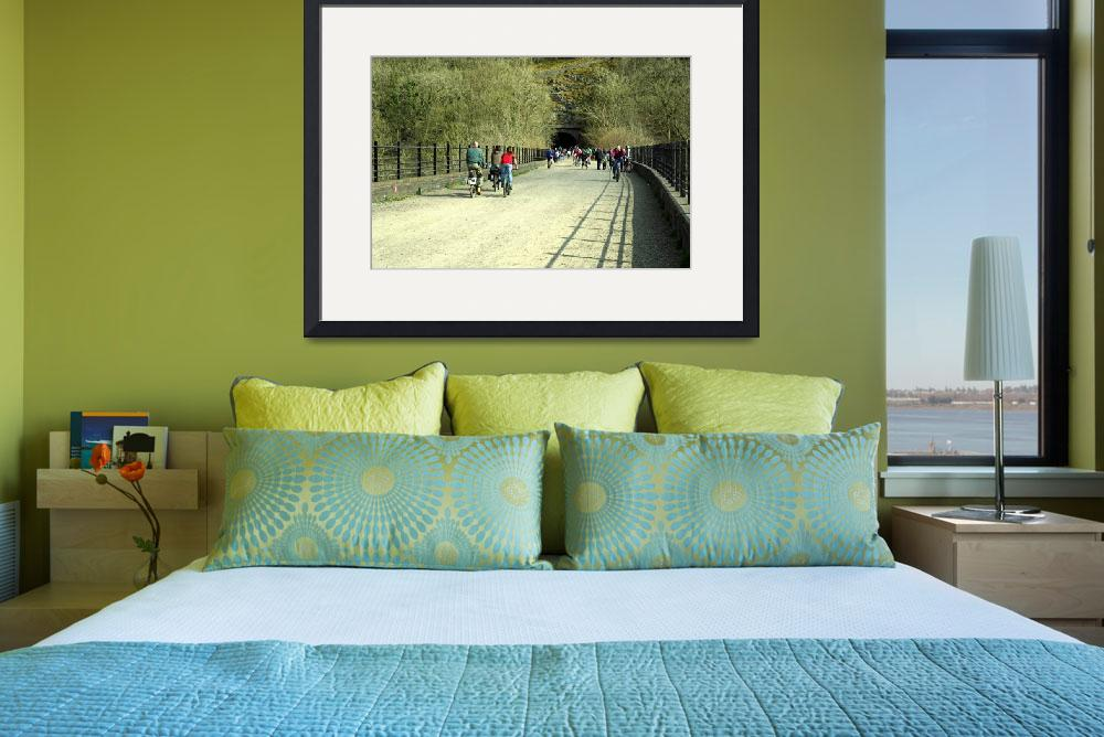 """""""Monsal Trail Over the Headstone Viaduct (36321-RDA&quot  (2013) by rodjohnson"""