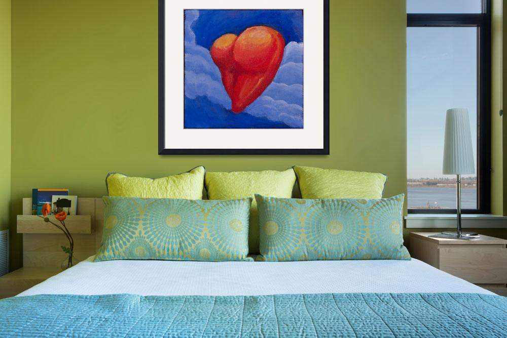 """""""Heart Shaped Butt in the Clouds&quot  (2010) by mordemed"""