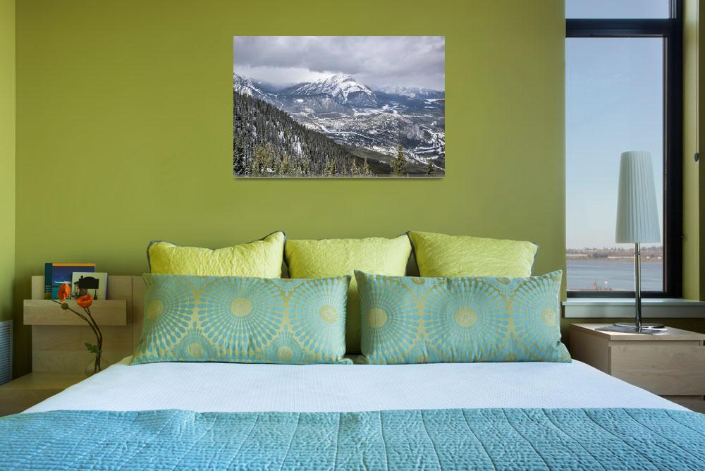 """Banff Gondola, Alberta, Canada&quot  by brianskinneryyc"