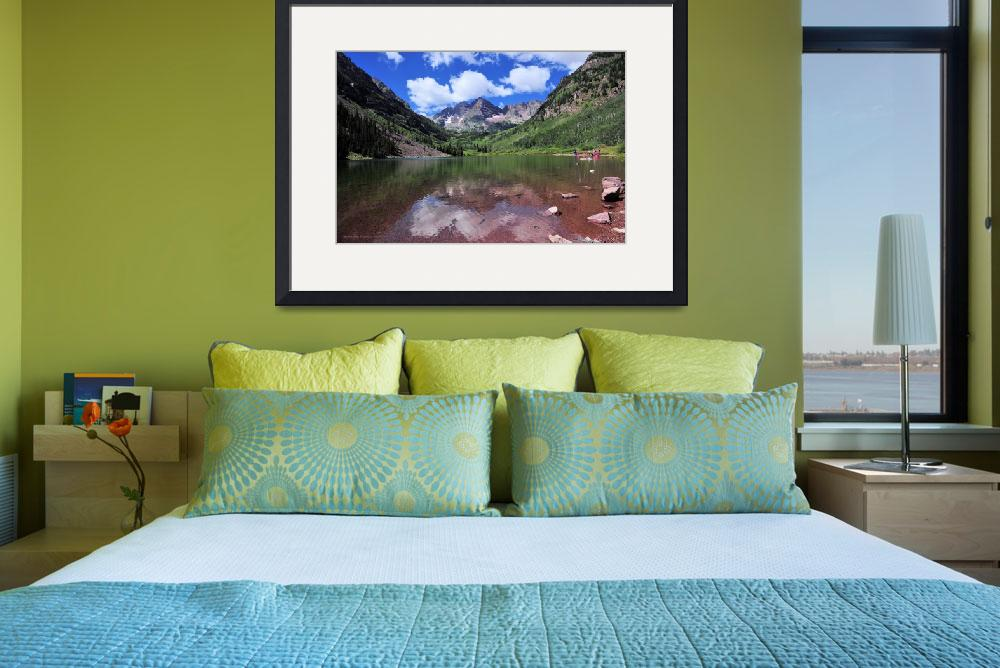 """""""Maroon Bells&quot  (2010) by doncon402"""