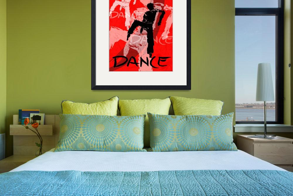"""""""Dance Poster 6&quot  (2004) by CrystalCarey"""