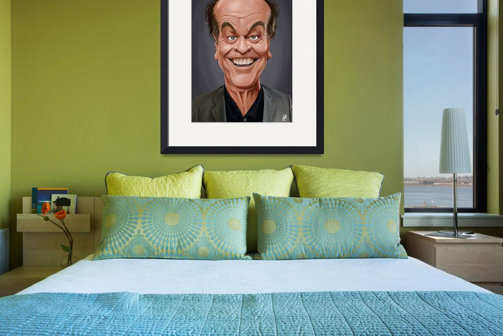 """Celebrity Sunday ~ Jack Nicholson&quot  (2015) by rob_snow"