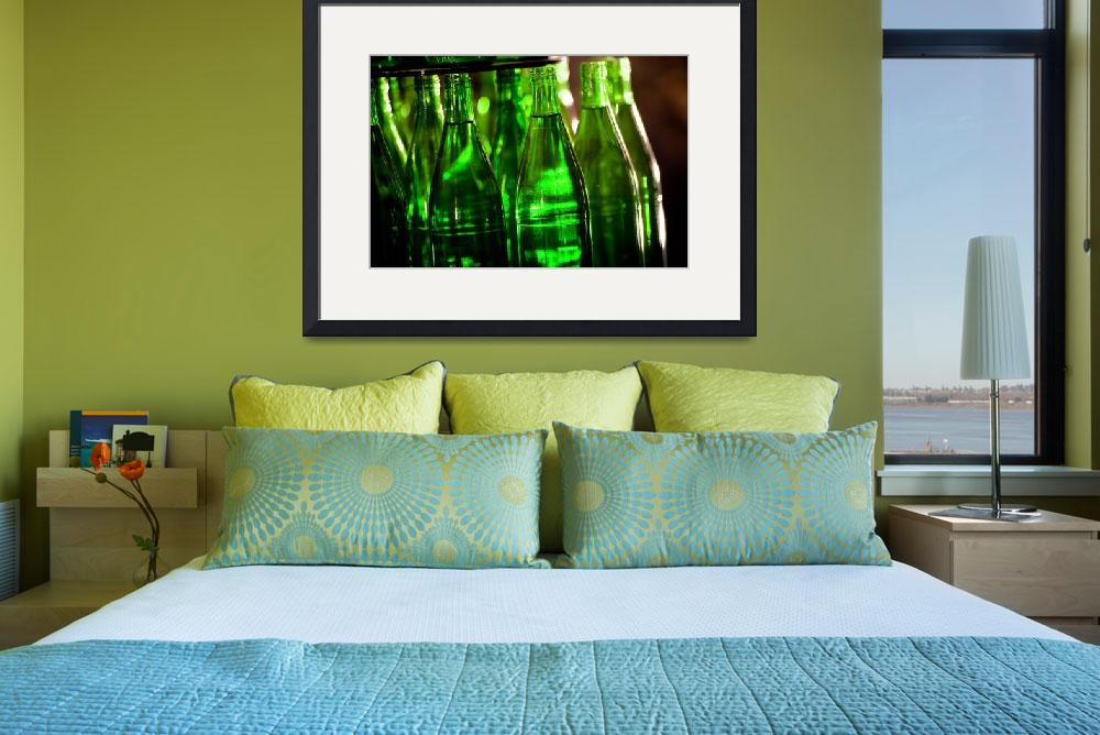 """""""Many Green Bottles&quot  (2008) by tomharrisonphotography"""