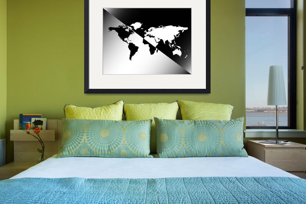 """""""graphic world map design&quot  by robertosch"""