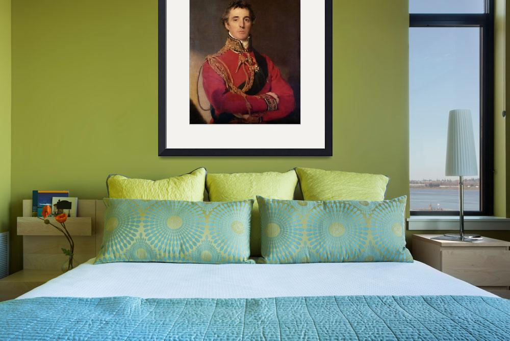 """Portrait of Arthur Wellesley&quot  by fineartmasters"