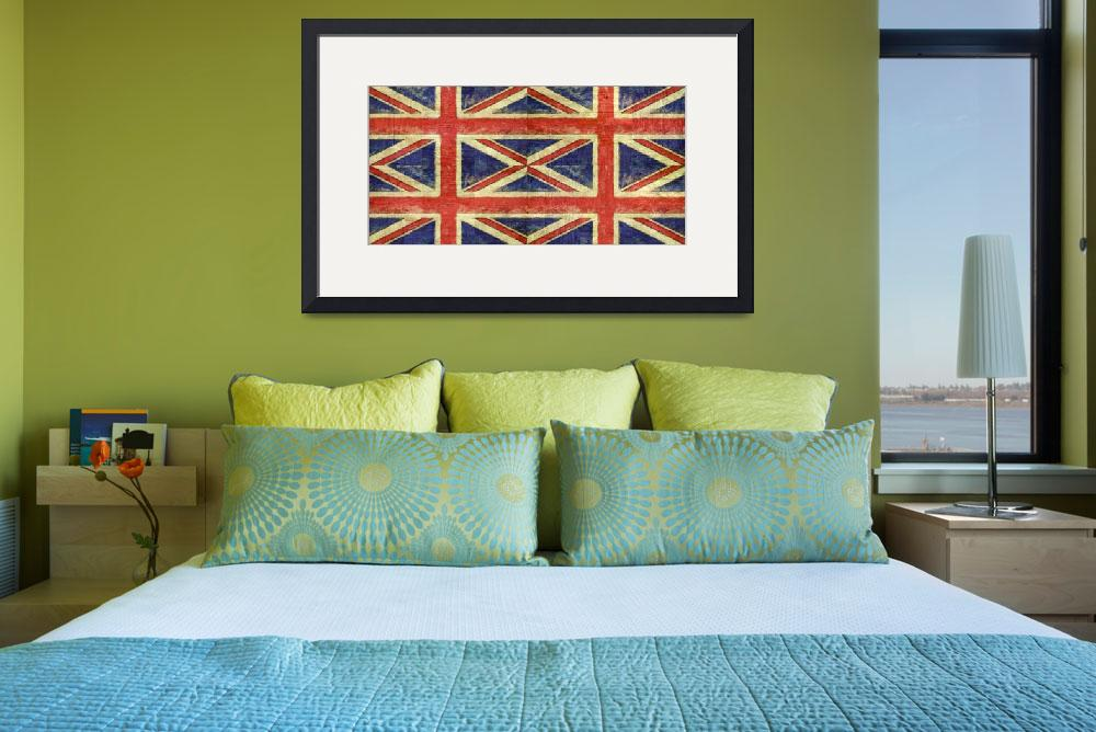"""""""British Flag Collage Two&quot  (2016) by Michelle1991"""
