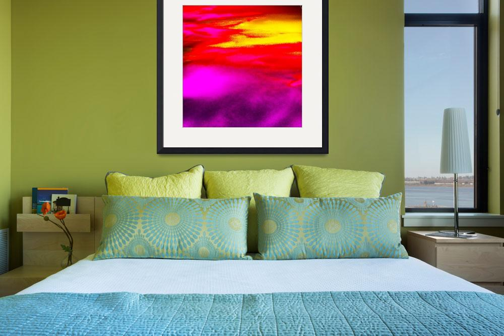 """""""Sunset&quot  (2008) by GenevieveBrown"""