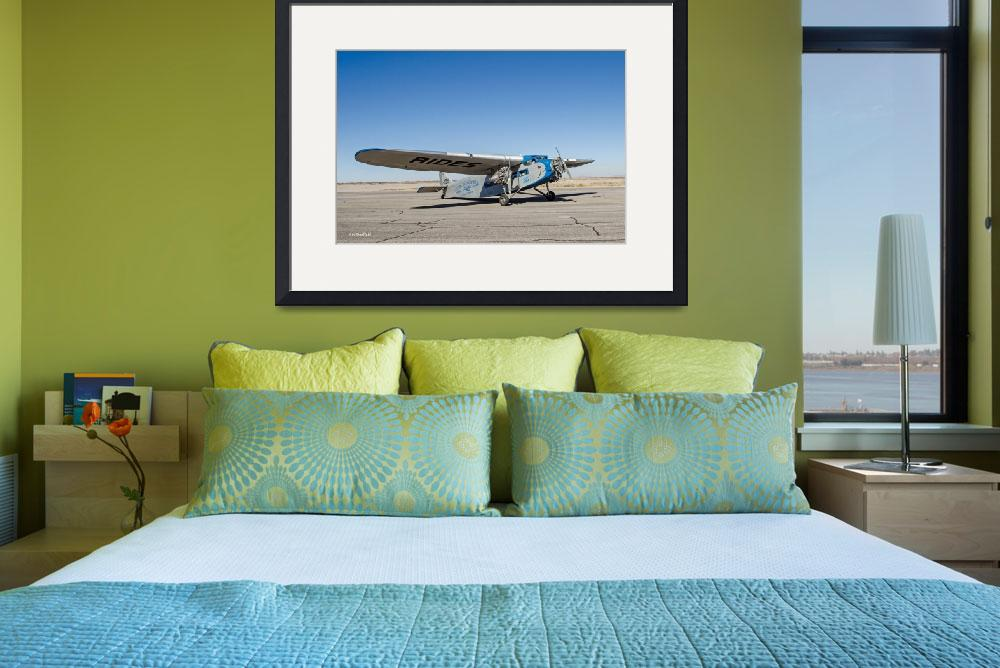 """Ford Tri-Motor Taxiing&quot  (2015) by awsheffield"