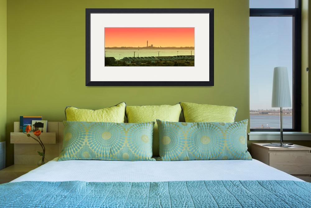 """Cape Cod : Provincetown Panorama&quot  (2013) by ChrisSeufert"