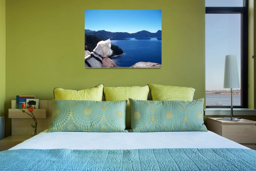 """Take A Journey With Beni Around Crater Lake&quot  by artsandi"
