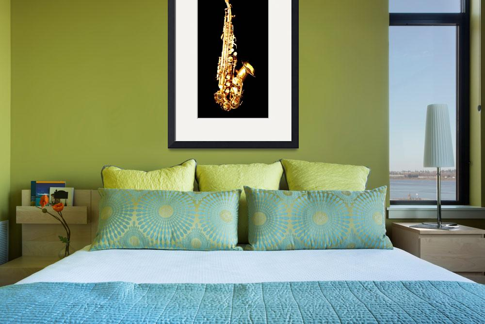 """""""Saxophone&quot  (2013) by aidao"""