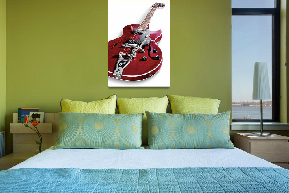 """""""Guitar Guild&quot  by Morganhowarth"""