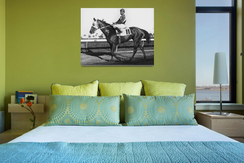 """Maribeau Horse Racing Vintage""  by RetroImagesArchive"