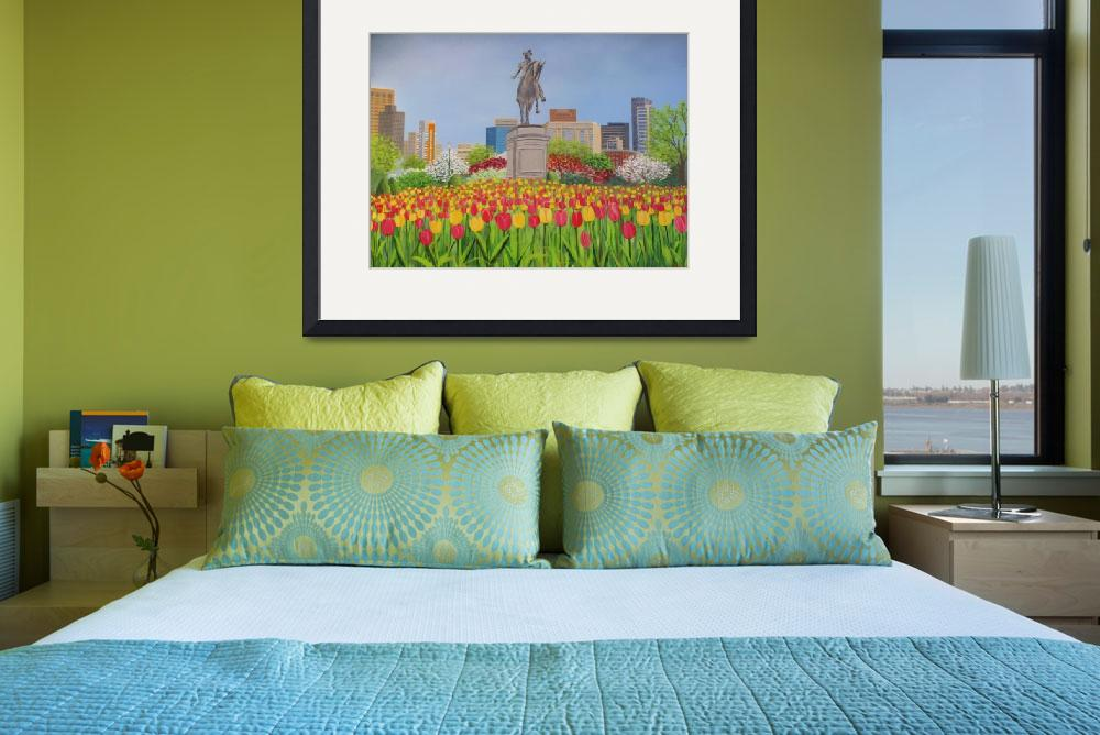 """""""Boston Tulips&quot  by NeilTheArtist"""