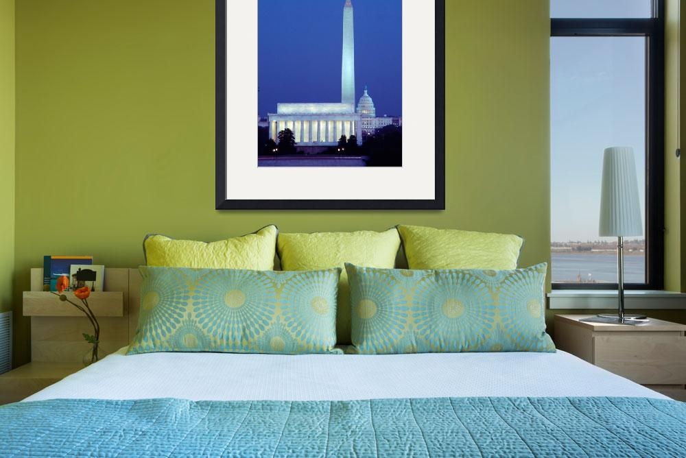 """""""Capitol Alignment Washington DC&quot  by christopherboswell"""