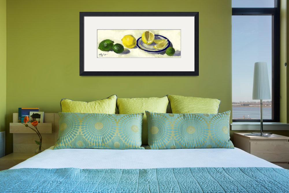 """""""lemons and limes""""  by acasey"""