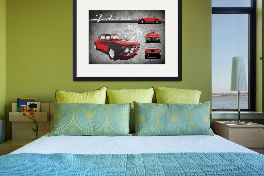 """""""Red Fulvia HF""""  (2012) by getshaped"""