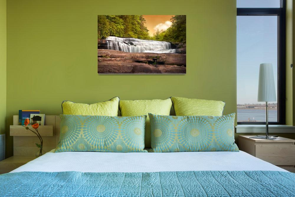 """""""Fabled Falls - Blue Ridge Mountains Waterfalls&quot  (2009) by DAPhoto"""