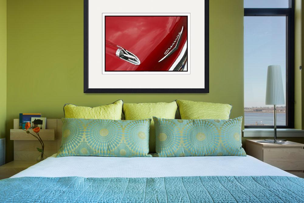 """""""Classic car Red 07.15.07_703""""  (2007) by paulhasara"""